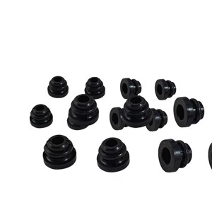 Cooker grate rubber bushing - 8 pieces for hole 8 mm