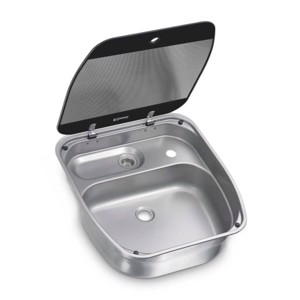 Stainless steel sink with cover SNG 4044