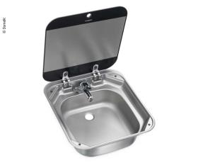 Stainless steel sink with cover, SNG 4244