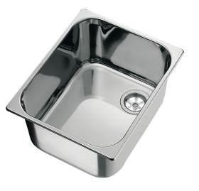 Built-in sink stainless steel 32 x 35 x 15cm