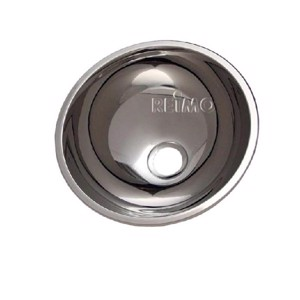 Stainless steel sink round 26cm