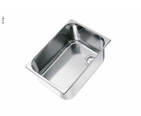 Built-in sink stainless steel 26 x 32 x 15cm