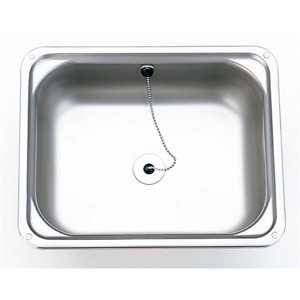 Stainless steel sink 400 x 325 mm