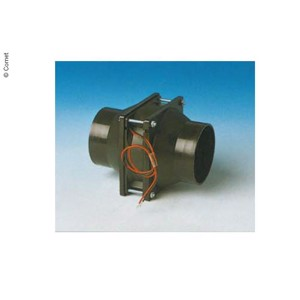 Pipe fan for existing heating systems for 60mm hoses