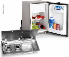 Camper van extension set 50 KD - Cooker-Sink-Combination & Built-in fridge