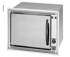 Built-in stainless steel oven