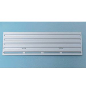 Winter cover for Thetford ventilation grille for refrigerator 13x43,5cm grey