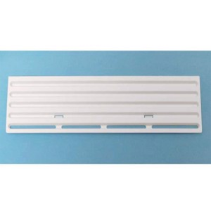 Winter cover for Thetford ventilation grille for refrigerator 13x43,5 cm white