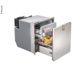 Drawer fridge 65L Inox 12/24V DC, Frost-Free