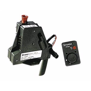 Remote control for safety/bleed valve