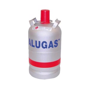 Aluminium gas bottle 11 kg. TÜV (new)