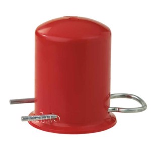 Protective cap for gas cylinders