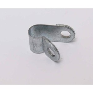 Gas pipe clamps metal 8mm, 10 pcs.
