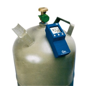 Gas cylinder content meter for 11 kg