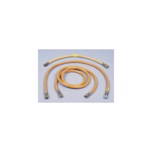 Gas hose 40cm m.10mm cutting ring fitting, winterproof -30