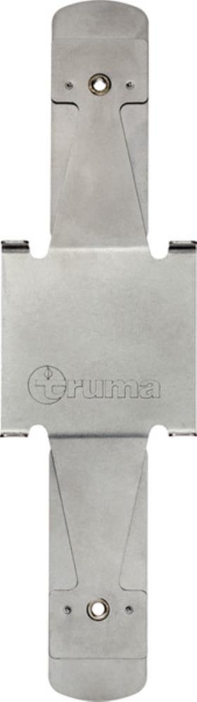 Clamping plate for aluminium gas cylinder in conjunction with Truma Level Contro