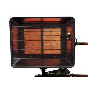Gas heater 2,5-4,2kW (ignition fuse, 0,4m hose + 50mbar regulator)