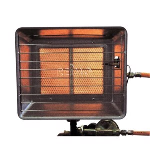 Gas heater 2,5-4,2kW Finnish version (hose 0,4m + regulator 30mbar)