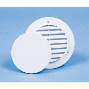 Wall ventilator with cover cap