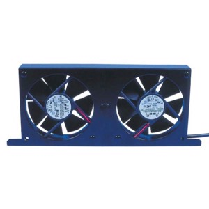 Double refrigerator fan Tornado with display panel MCV/2