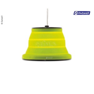 Lamp Leonis 230V, dimmable, green, foldable