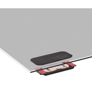 Inductive charging unit black with non-slip pad and LWL kit