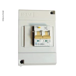 Fault-current circuit breaker witz 13A fuse