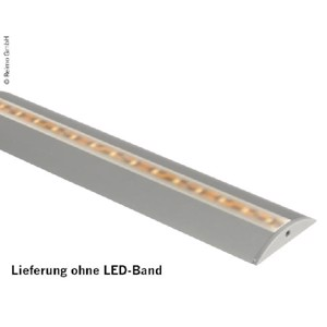 Profile for LED strips length 1.5m, semicircular
