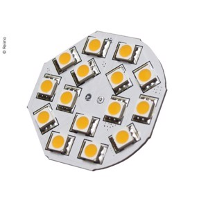 LED G4 bulb, 3W, 200 lumen, 15x warm white SMD,