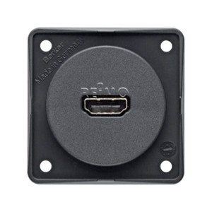 HDMI built-in socket anthracite,loose