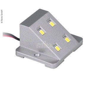 LED cabinet light 12V/0,8W silver with magnetic switch