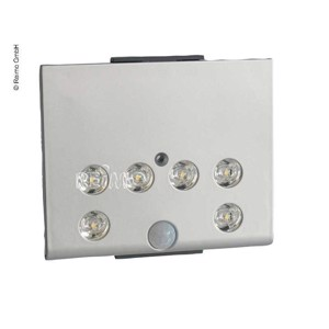 LED battery light with sensor 0,5W 6LEDs on/off switch 1400mA battery
