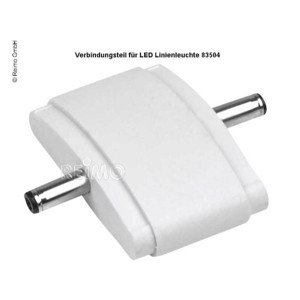 Connector for line lamp 300mm, white
