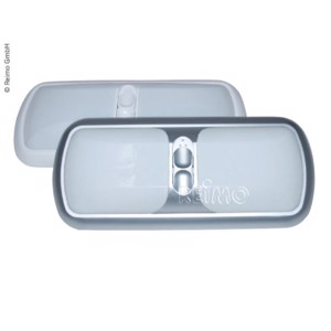 Ceiling light Duo 12V/2x21CP silver