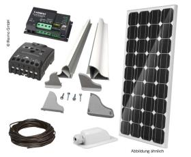 Solar Panel Kit complete 120W + MPP Controller