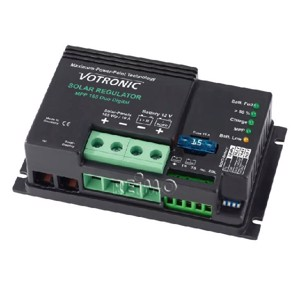Solar Charge Controller MPP 165 Duo Digital 12V