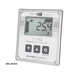 MT Solar remote display III black with 5m connection cable