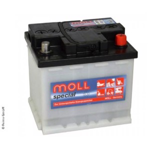 Solar battery 12V /60Ah, Moll special Classic battery