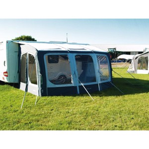 Large, inflatable caravan partial tent Eclipse 420