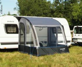 Inflatable partial tent for Caravan Lynx 200