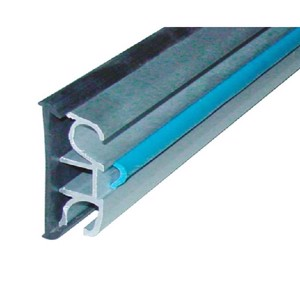 Rubber sealing profile for aluminium window rail 43mm