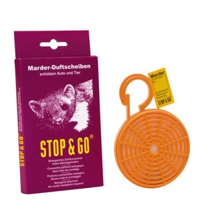 Marder Stop&Go, fragrance disc with long-term effect