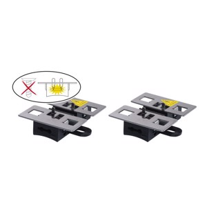 Marder Stop&Go, 2 contact plates for high voltage devices
