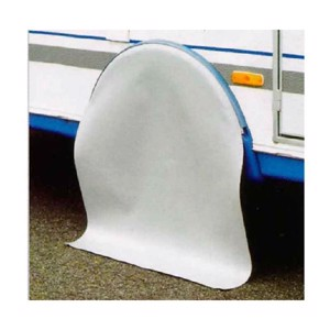 Wheel-arch protection cover for Hobby 1-axle, light-grey