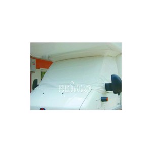Summer insulation f. VW T5, for outside, white, triple layer