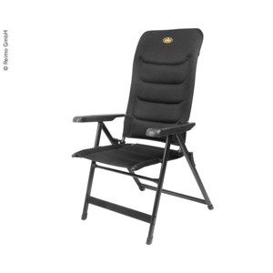 Aluminium Camping Chair, MALAGA BREEZE Camp4, black