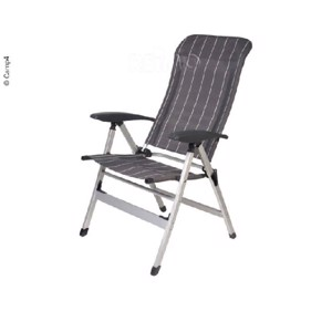Camping chair Colima, anthracite/white