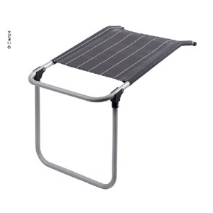 Footrest for Camping Chair Colima, Camp4, anthracite/white
