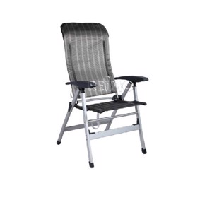 Aluminium Camping Chair, Merida Camp4, grey/silver