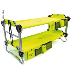 Kids Bunk Bed Kids-O-Bunk, Lime Green, per bed max. 91 kg